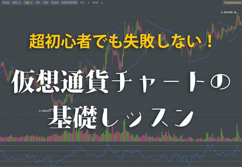 仮想通貨チャート基礎レッスン